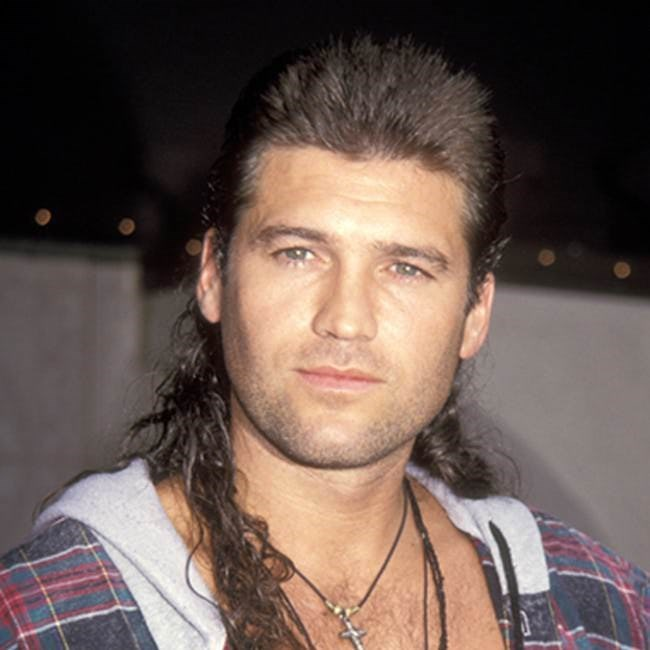 Mullet on young Billy Ray Cyrus