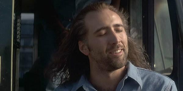 Mullet on young Nicolas Cage in Con Air