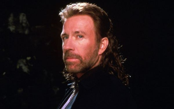Mullet on young Texas Ranger Chuck Norris