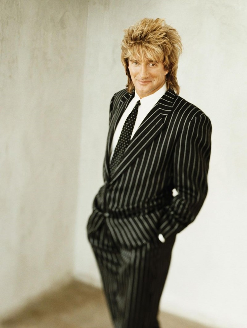 Mullet on young Rod Stewart