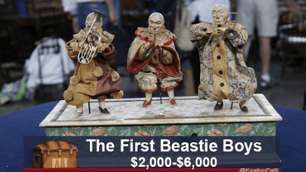 cursed image - Figurine - The First Beastie Boys $2,000-$6,000 AN BIKsateoPatt