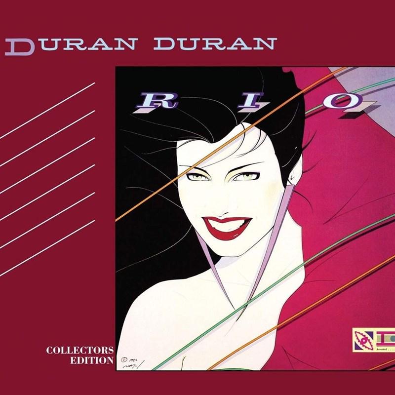 "cover of the album ""Rio"" by Duran Duran"