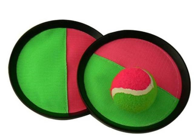 toss and catch Velcro toy