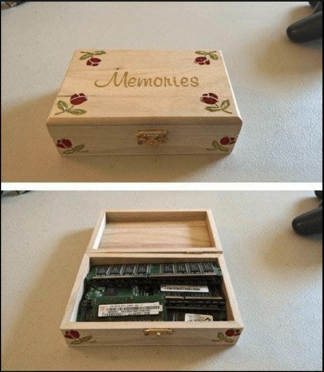 Box - Memoties