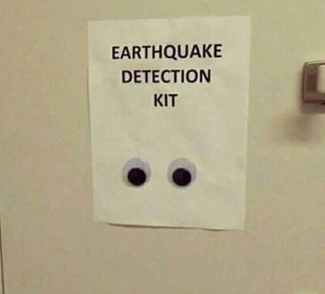 Text - EARTHQUAKE DETECTION KIT