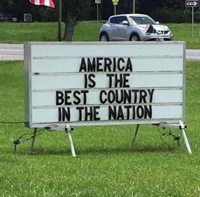 Motor vehicle - AMERICA IS THE BEST COUNTRY IN THE NATION