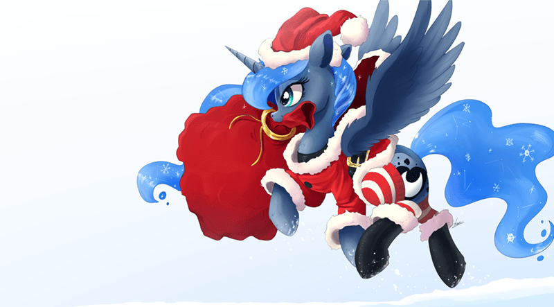 christmas princess luna nc mares - 9245052416