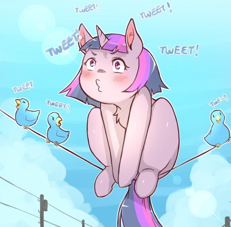 twitter cold-blooded twilight twilight sparkle - 9245053440