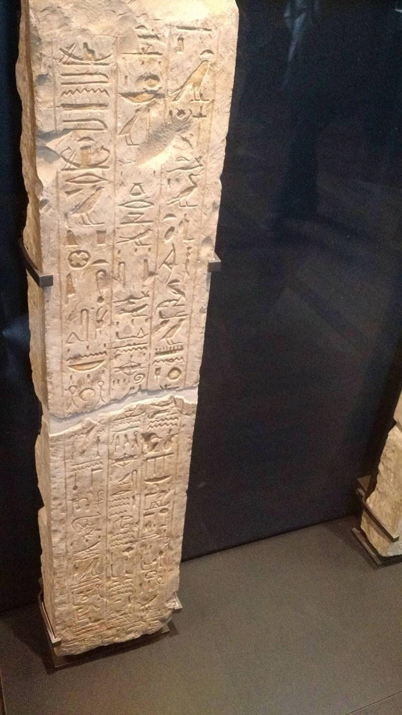 CVS receipt meme of a long stone with hieroglyphics