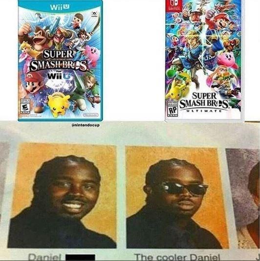Comics - Wiiu CH SUPER SMASH BRES Wii SUPER SMASH BRES RP ULTIMA anintendocup The cooler Daniel Daniel