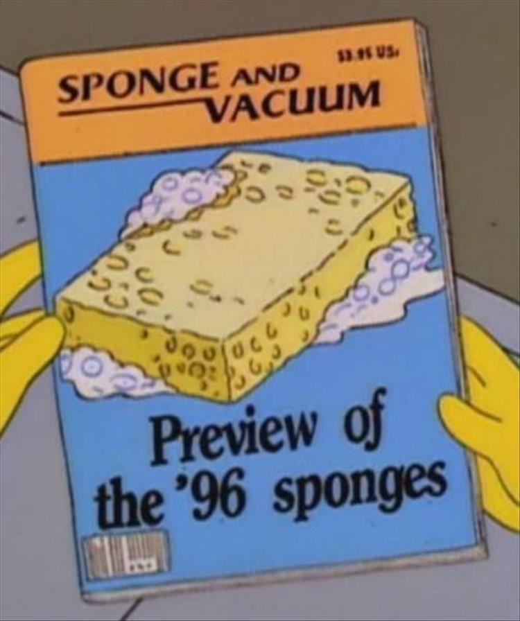 Fiction - SPONGE AND VACUUM 3.95 US Preview of the '96 sponges