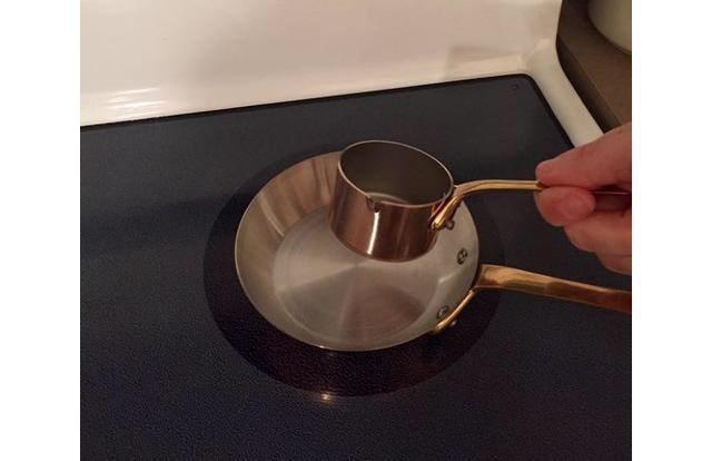 shopping fail of a tiny pot