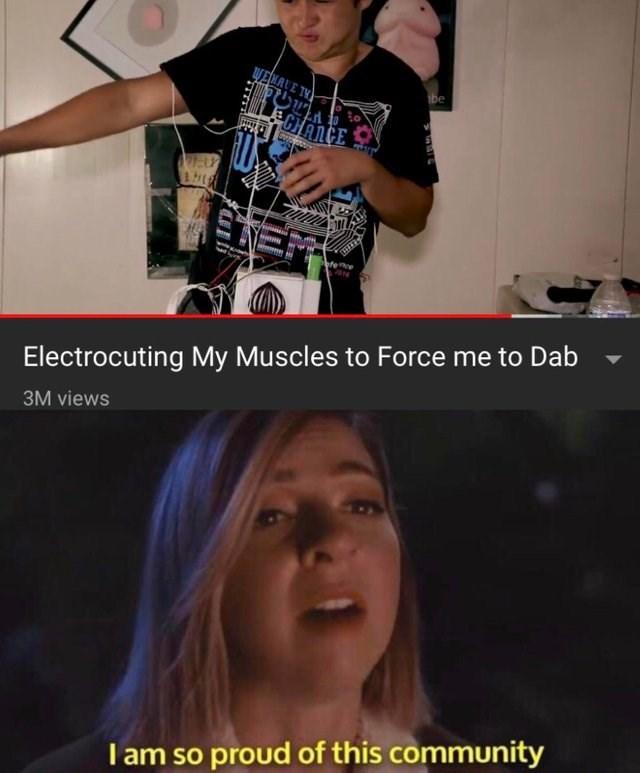 dank meme about YouTube Rewind including stupid videos