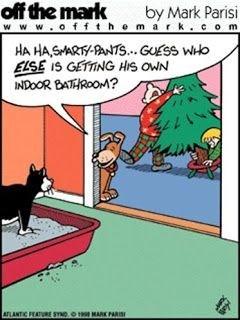 Cartoon - off the mark www.offthemar k.com by Mark Parisi HA HASMARTYPANTS... GUESS wo ELSE IS GETTING HIS owN INDOOR BATHROOM? ATLANTIC FEATURE smoo 1 ARK PARIS