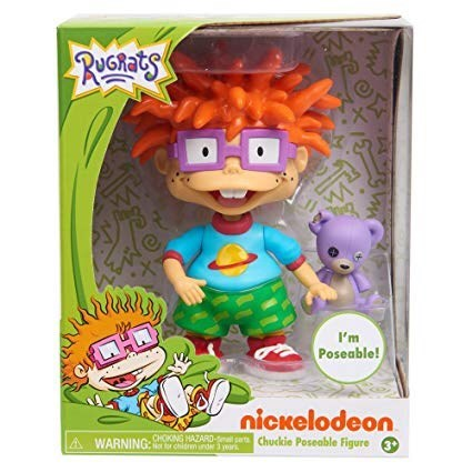 Toy - RUGHATS X X y I'm Poseable! nickelodeon WARNING: AZARD- Chuckie Poseable Figure Hot tor chidren und 3 yeark