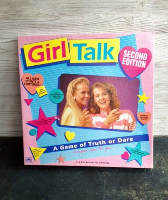 Text - Girl Talk SECOND EDITION ALL NEW STUNTS& FORTUNES A Game of Truth or Dare See Btto For Contents