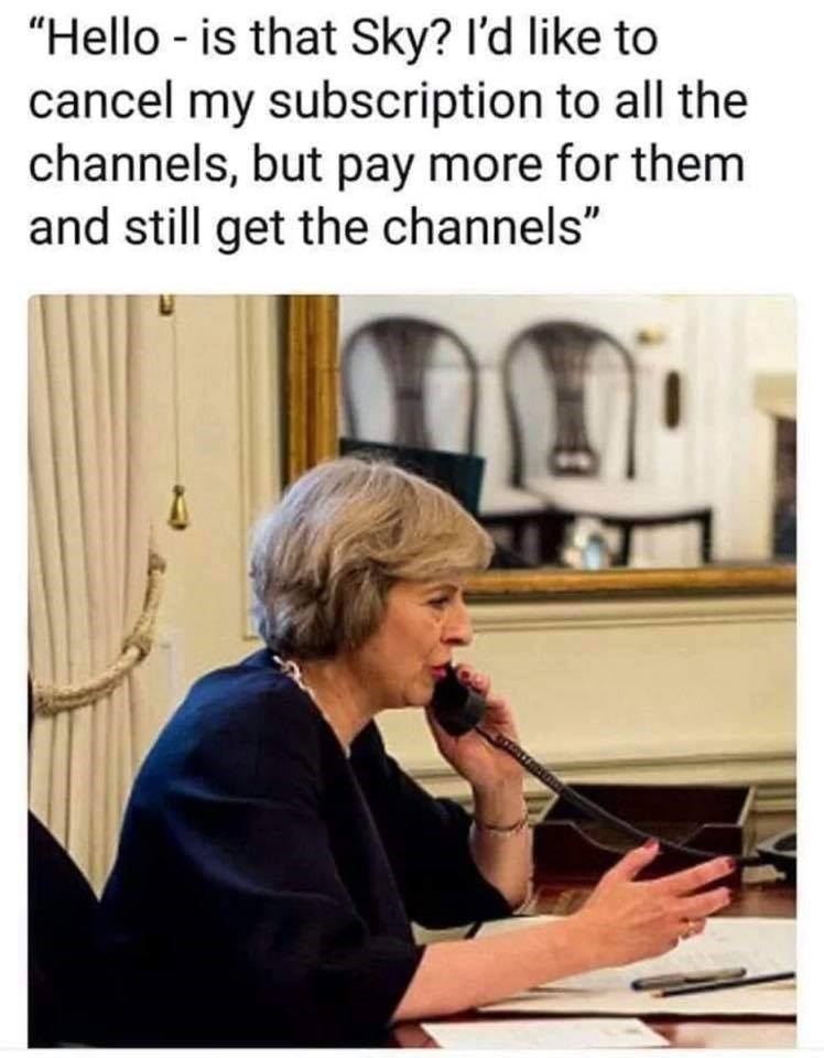 theresa may meme about how brexit is not a good idea