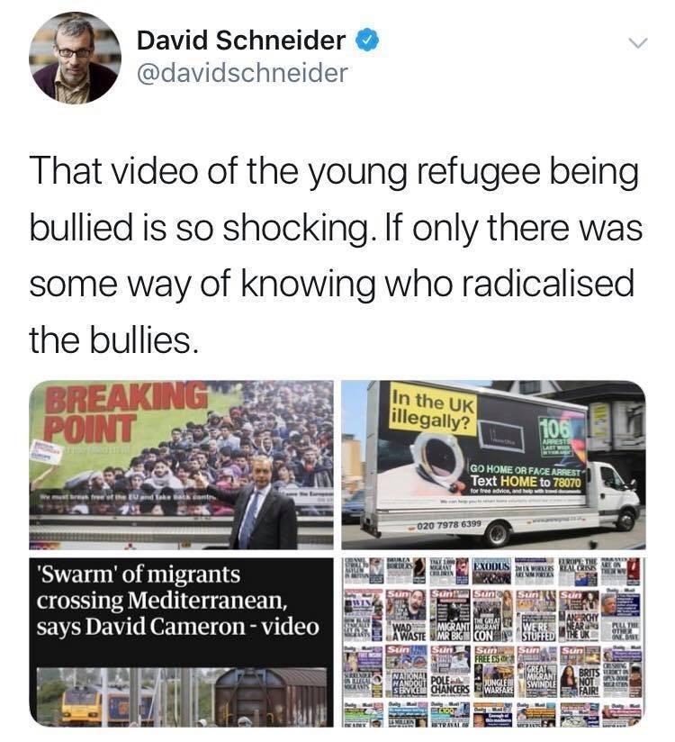brexit meme about the politics of immigration