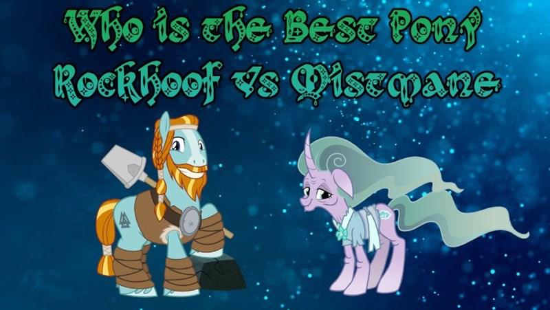 rockhoof mistmane best pony - 9248018944
