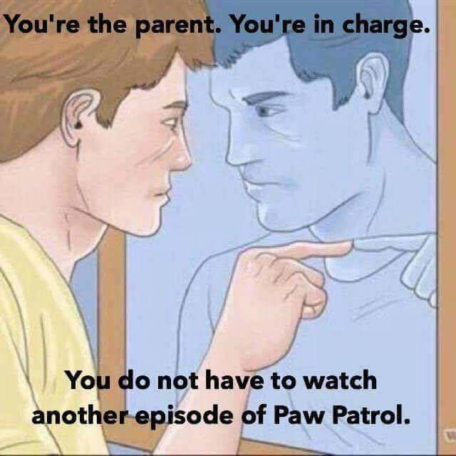 meme about parent giving themselves pep talks before dealing with their kids