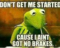 Kermit the frog meme about being stressed in life