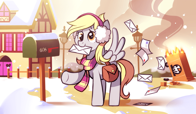 christmas karzahnii derpy hooves - 9248826368
