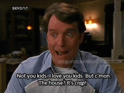 Malcolm In the Middle scene of Hal talking about being an adult