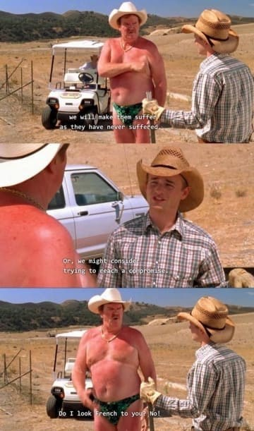 Malcolm In the Middle scene about reaching a compromise