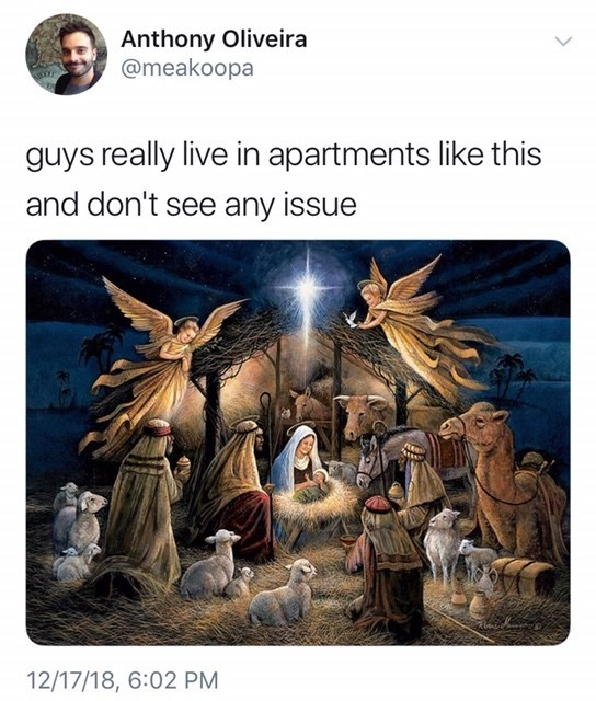 """""""guys really live in apartments like this"""" of Jesus's birthplace"""