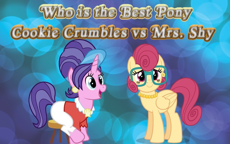 mrs shy best pony cookie crumbles - 9249904896