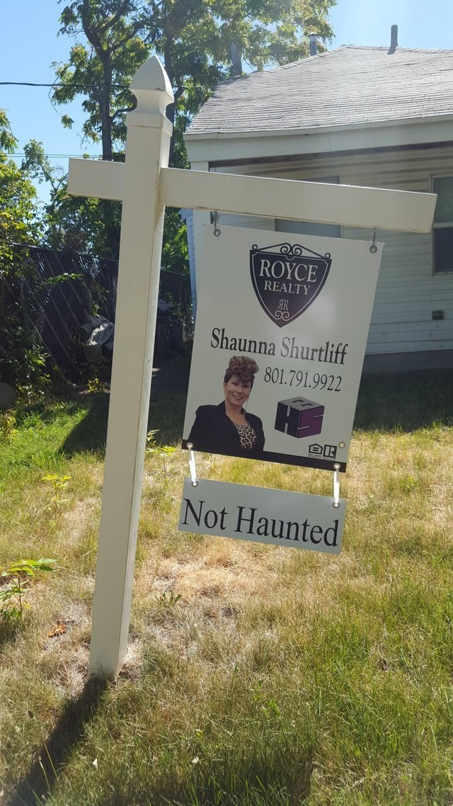 Banner - ROYCE REALTY Shaunna Shurtliff 801.791.9922 AR Not Haunted