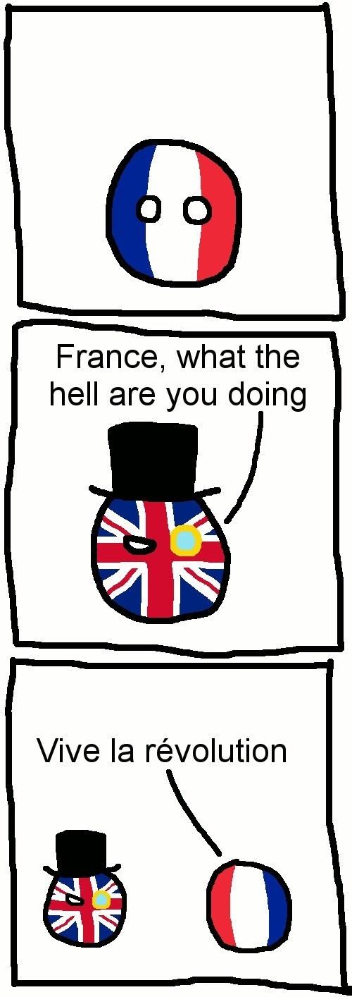 gif representing France revolving around itself in celebration of the revolution
