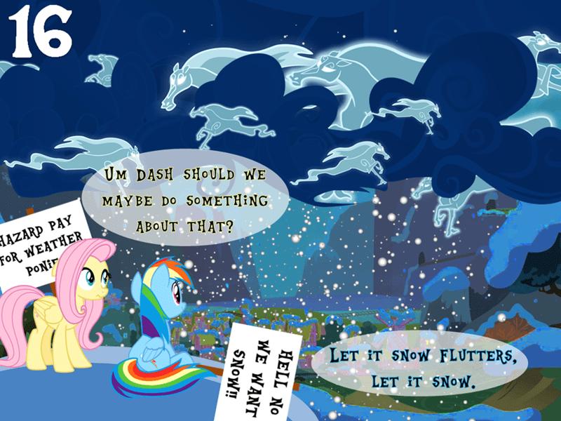 windigo fluttershy rainbow dash brony by exception - 9250336512
