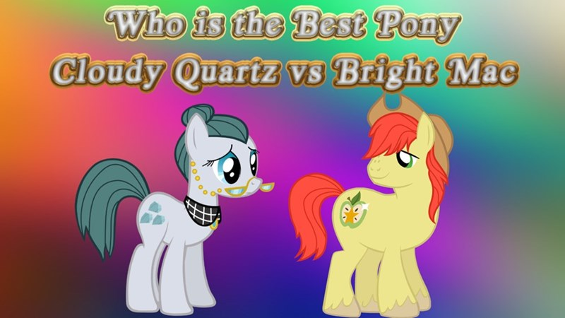 bright mac Cloudy Quartz best pony - 9250786560