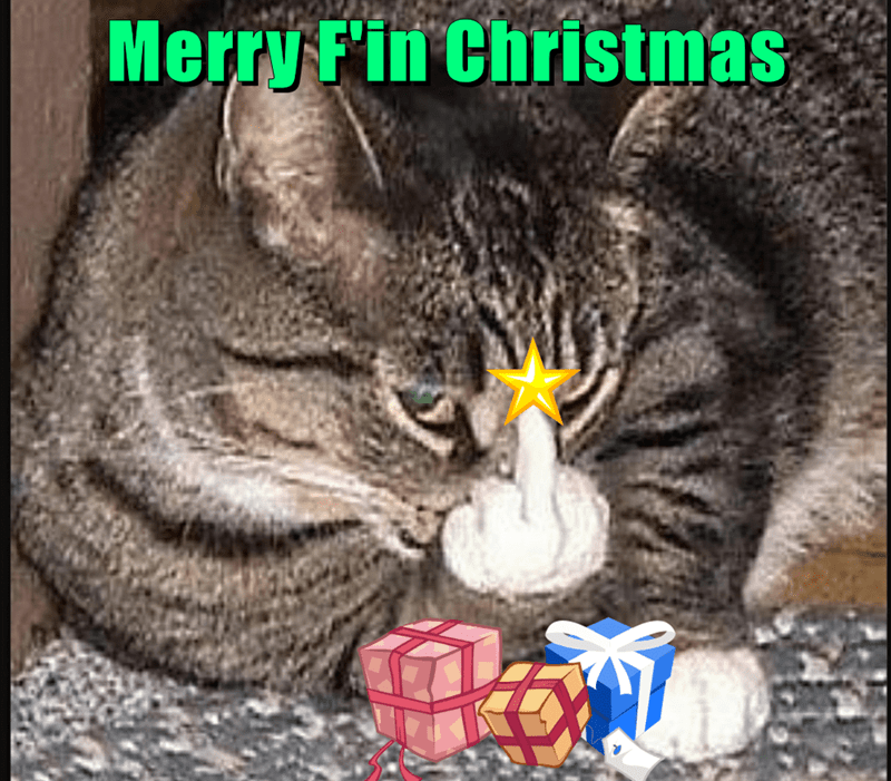 Merry F\'in Christmas