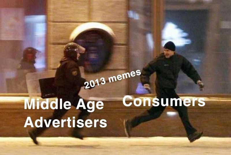 Dance - 2013 memes Middle Age Consumers Advertisers