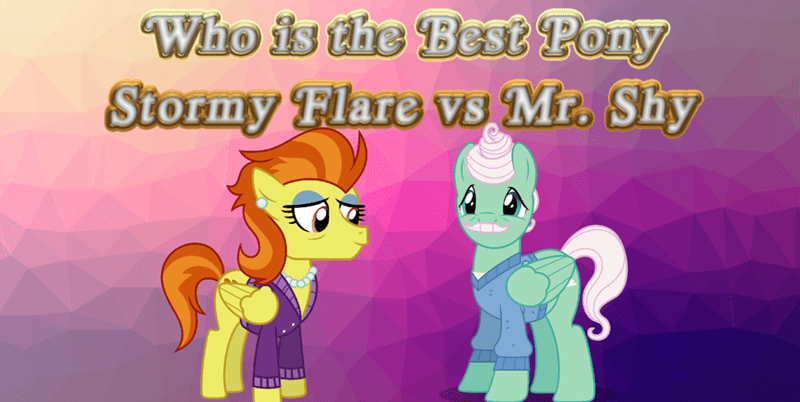 stormy flare mr shy best pony - 9251378432