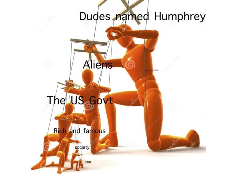 funny meme about dudes named humphrey ruling the world