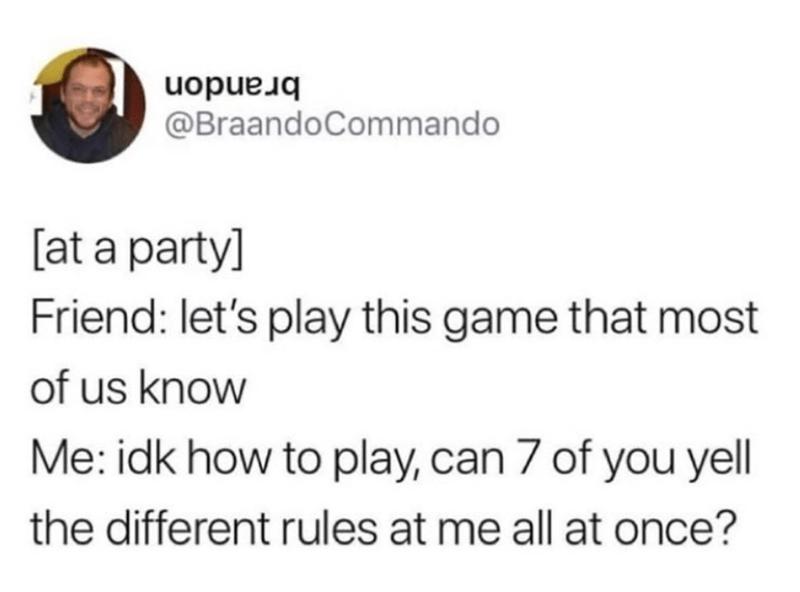 Funny meme, random meme, funny tweet, playing games.