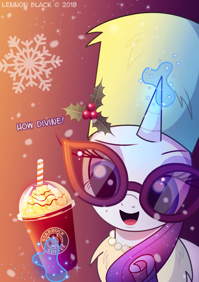 christmas lennon black Starbucks rarity - 9251706368
