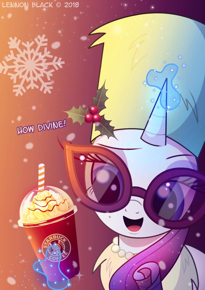 christmas lennon black Starbucks rarity - 9251706368