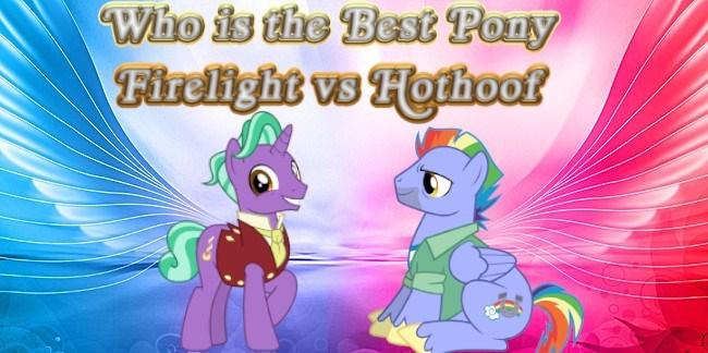 firelight bow hothoof best pony - 9251713792