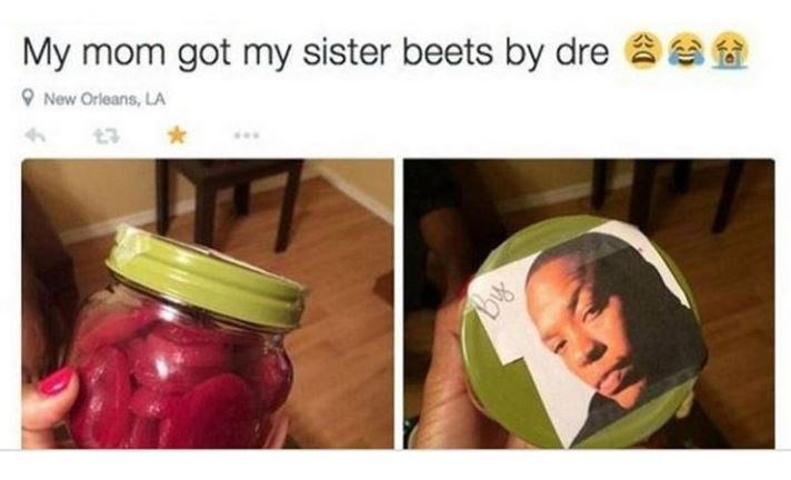 Mason jar - My mom got my sister beets by dre New Orleans, LA