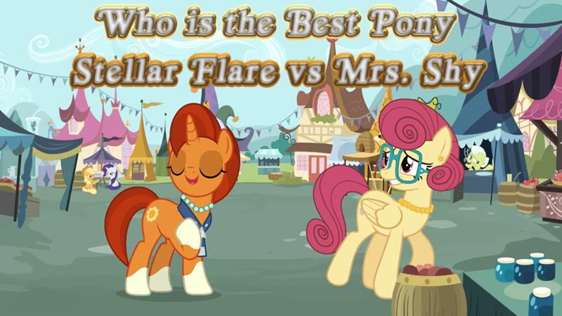 mrs shy best pony stellar flare - 9252311552