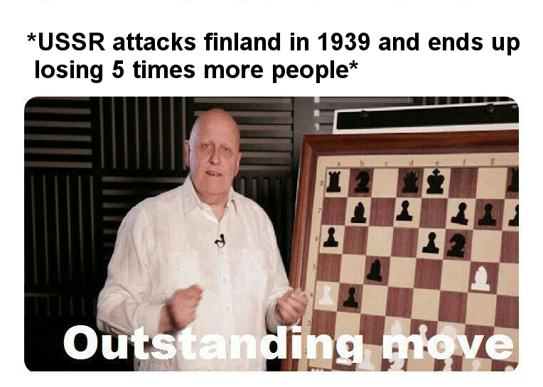 dank history meme about the USSR making bad military decisions
