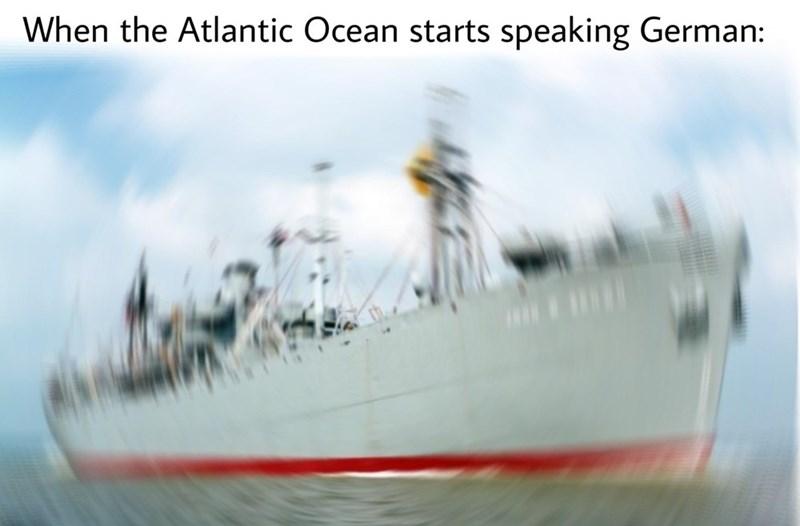 dank history meme about the Battle of the Atlantic