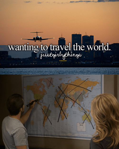 just girly things meme about wanting to travel with scene from Always Sunny of Mac crossing out entire continents on a world map