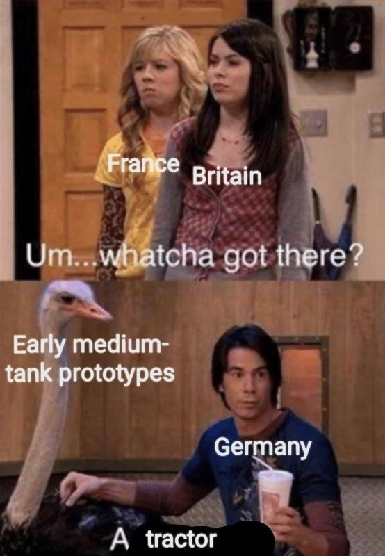 iCarly meme with Spencer as Germany hiding militant research as agricultural