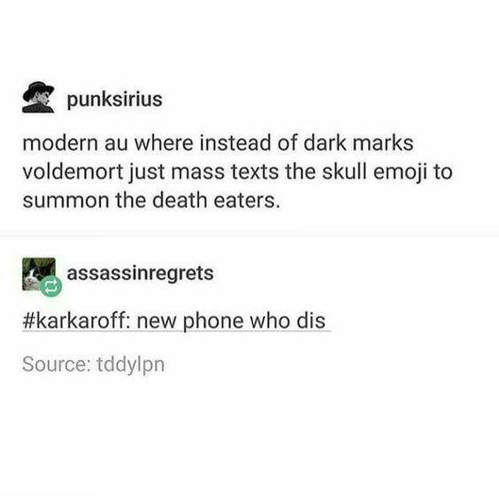 Harry Potter meme about wizards using modern technology
