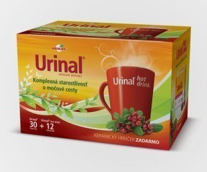 Herbal - Urinal Urinal aink hot Komplexná starostlivost o motové cesty 30+12 KERANICKY HRNCEK ZADARMO